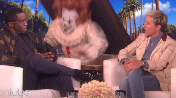 Ellen Proves That Diddy is Afraid of Clowns