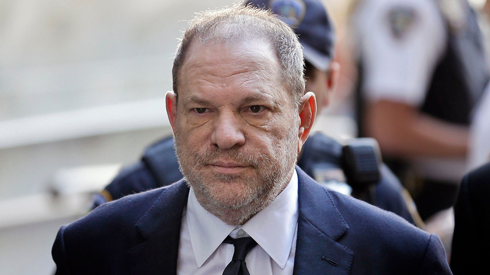 Harvey Weinstein Reportedly Accused of Sexually Assaulting a 16-Year-Old Virgin