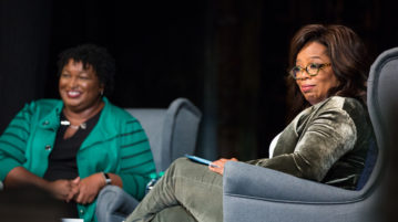 Oprah Winfrey Responds to Racist Robocalls Targeting Stacey Abrams