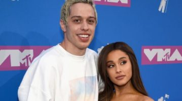 Pete Davidson Jokes About Breakup With Ariana Grande at Comedy Show
