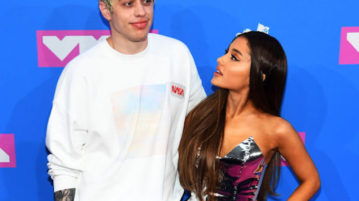 Pete Davidson Reportedly Axed Ariana Grande 'SNL' Spoof