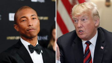 Pharrell Williams Issues Cease and Desist to Donald Trump for Use of 'Happy' at Rallies