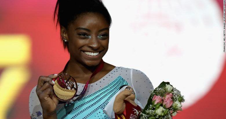 Simone Biles Wins her Fourth World Championships All-Around Title