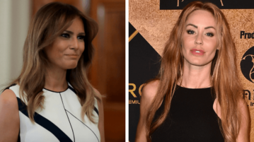 T.I.'s Melania Trump Look-Alike Allegedly Receiving Death Threats