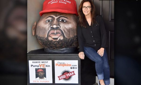 Woman Makes 315-Pound Kanye West Pumpkin