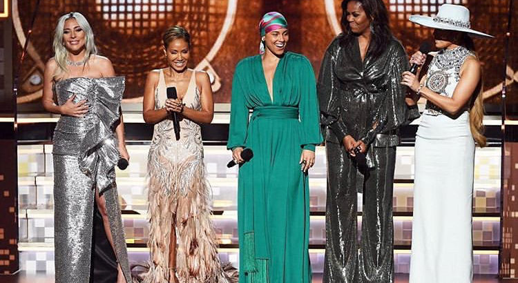 Michelle Obama Makes Surprise Appearance at Grammys