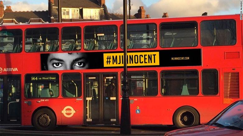 London Bus Company Under Fire for #MJInnocent Ad