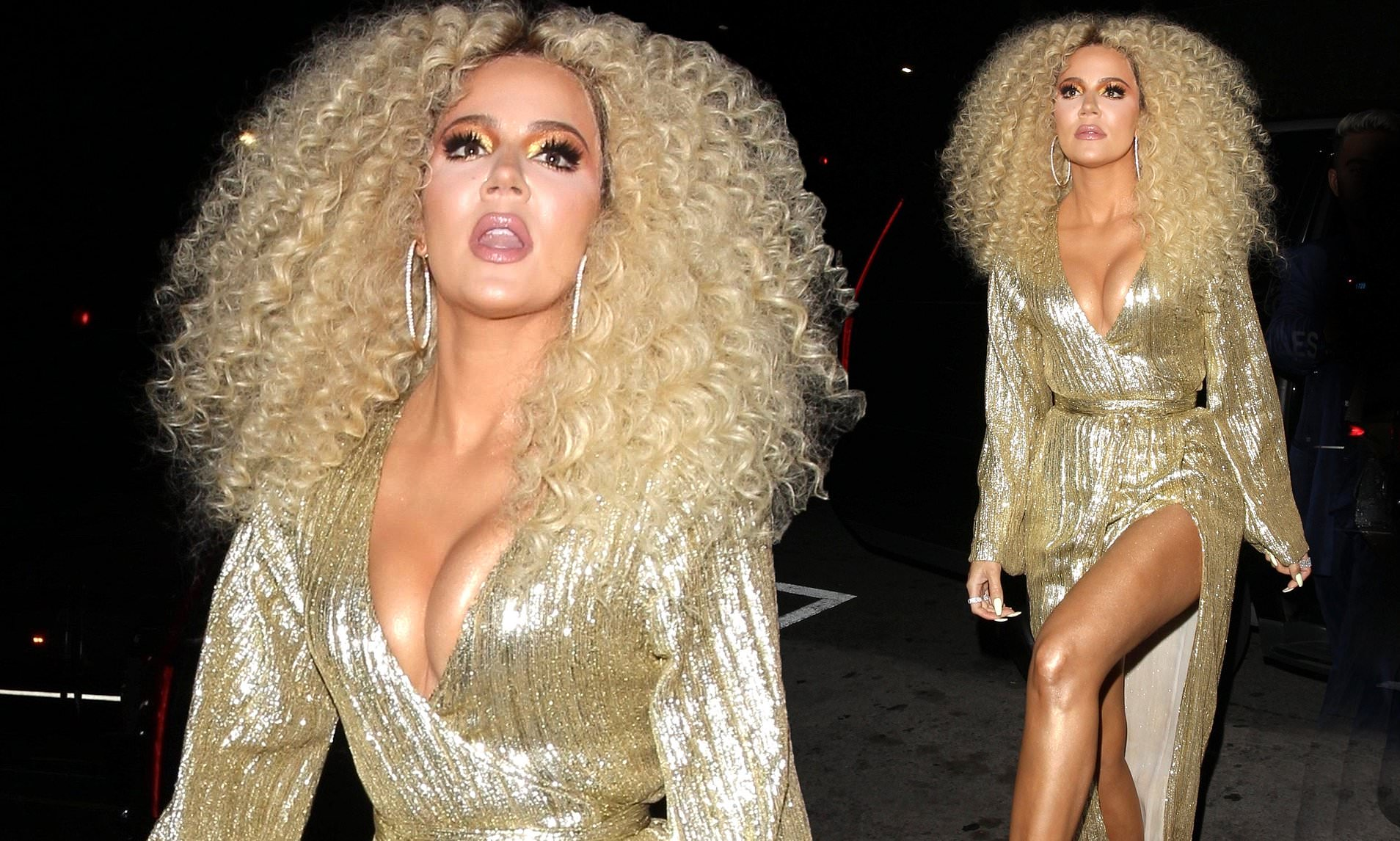 Khloe Kardashian is Dragged for Diana Ross-Inspired Look