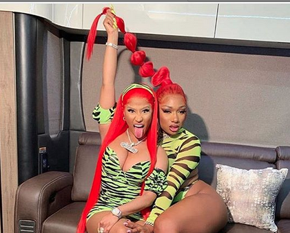 Megan Thee Stallion is Set to Appear on Queen Radio With Nicki Minaj