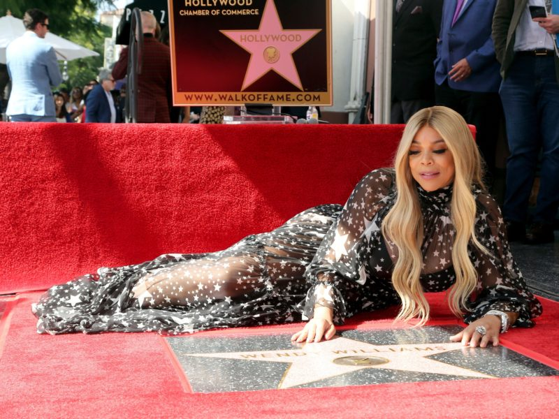 Wendy Williams Tearfully Accepts Star on the Hollywood Walk of Fame