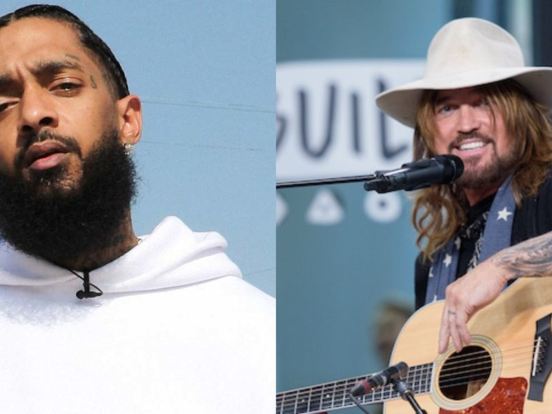 Billy Ray Cyrus Dedicates BET Hip Hop Award to Nipsey Hussle
