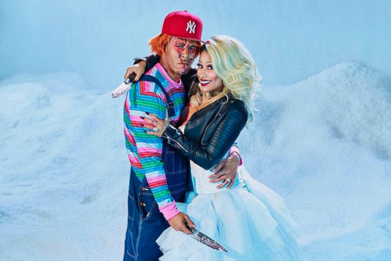 Nicki Minaj Shows Off Big Ole Wedding Ring in Halloween Photoshoot