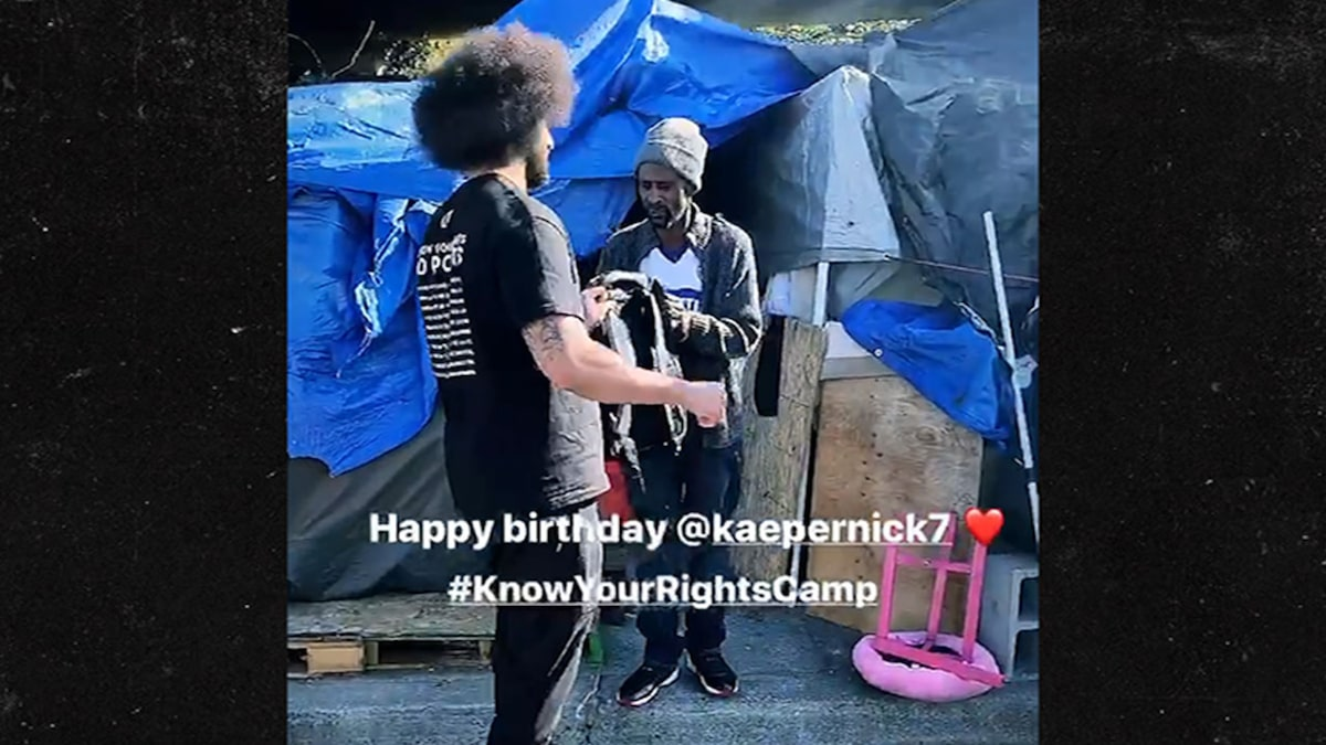 Colin Kaepernick Celebrated 32nd Birthday Giving Back to the Homeless