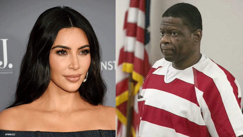 Kim Kardashian Was Visiting Rodney Reed When he Learned his Execution Was Suspended Indefinitely