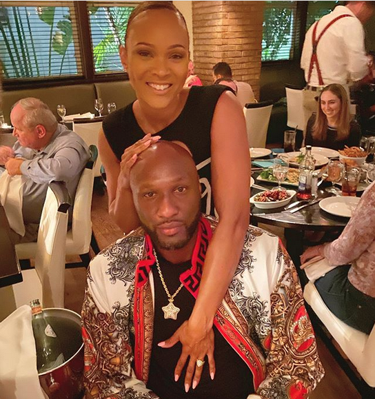 Lamar Odom and Girlfriend Sabrina Parr are Now Engaged