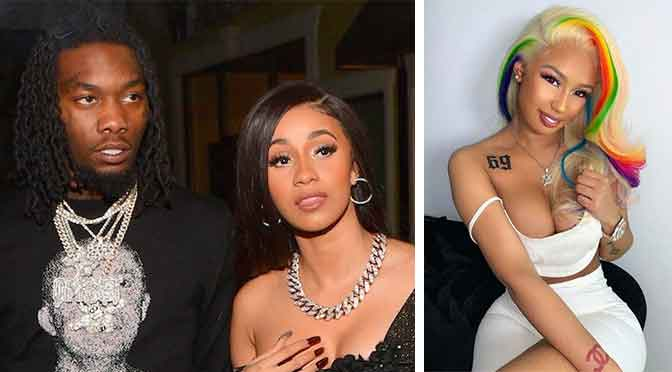 SIKE! Cardi B Proves Offset's Social Media Accounts Were Hacked After Jade Exposes Alleged Thirsty DMs