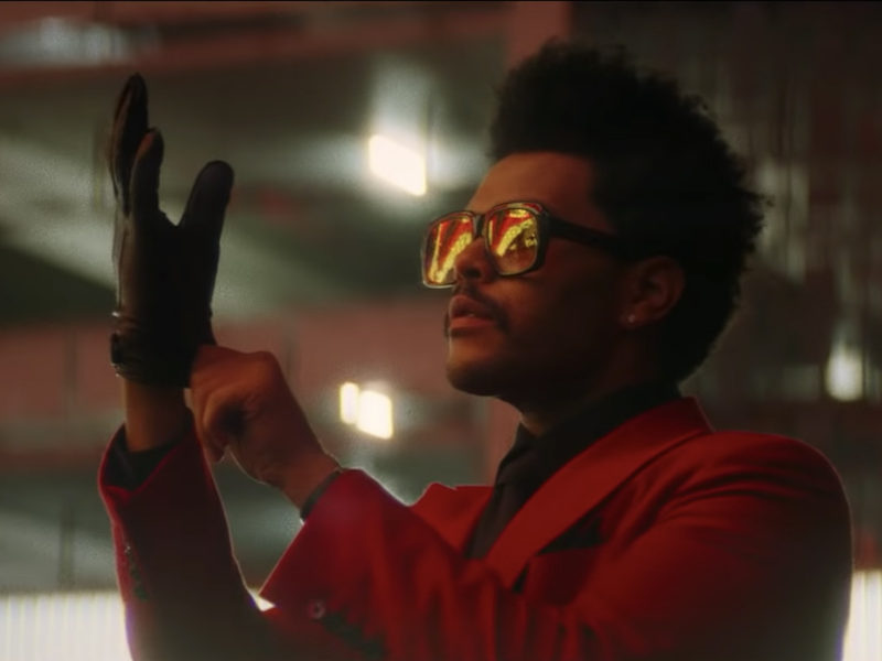 The Weeknd Goes on a Bloody Spree in 'Blinding Lights' Video