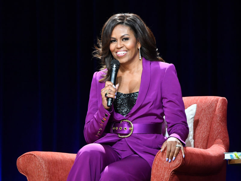 Michelle Obama Announces IGTV Series About College Freshmans