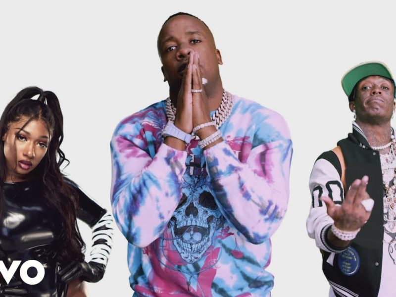 Yo Gotti, Megan Thee Stallion, and Lil Uzi Vert Have a Photo Shoot in 'Pose' Music Video