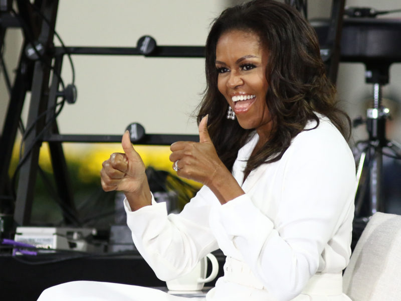 Michelle Obama's 2020 Work Out Playlists Includes The Carters, Cardi B, Burna Boy and More