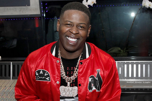 Blac Youngsta Pulls Out Big Draco at South Carolina Show
