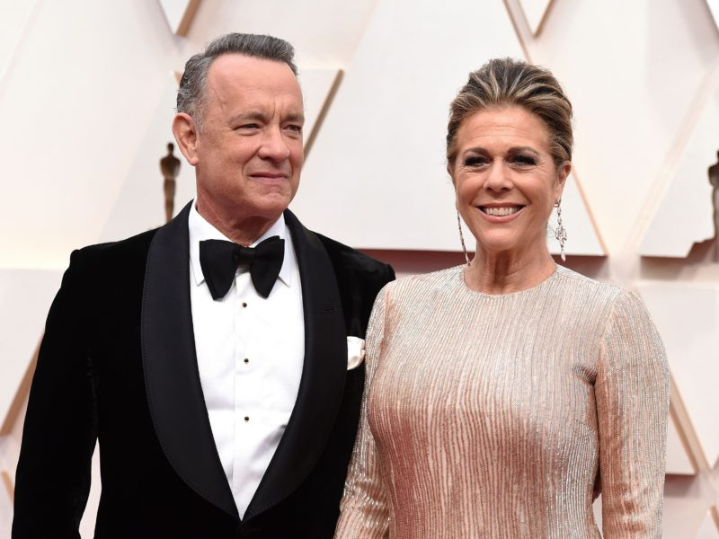 Tom Hanks, Rita Wilson Tested Positive for Coronavirus in Australia