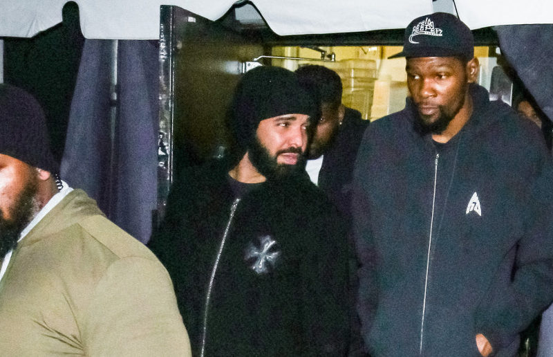 Drake Reportedly Self-Quarantines After Partying With Kevin Durant Who Tested Positive for Coronavirus