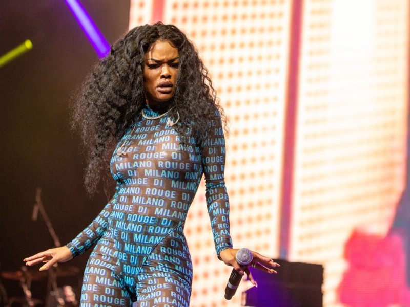 Teyana Taylor Had Medics for COVID-19 Concerns at 'The Album' Listening Party