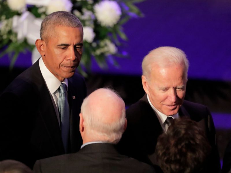 Barack Obama Endorses His 'Friend' Joe Biden's Presidential Bid