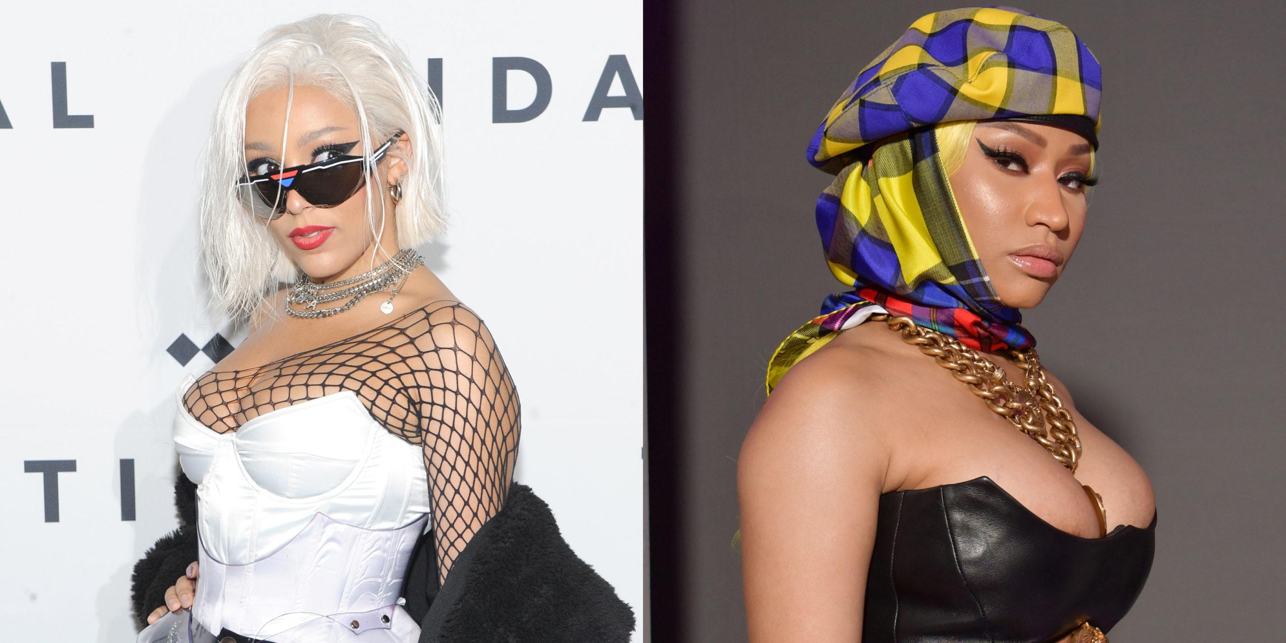 Here's Why Nicki Minaj is No Longer Listed on Doja Cat's 'Say So' on Billboard Hot 100