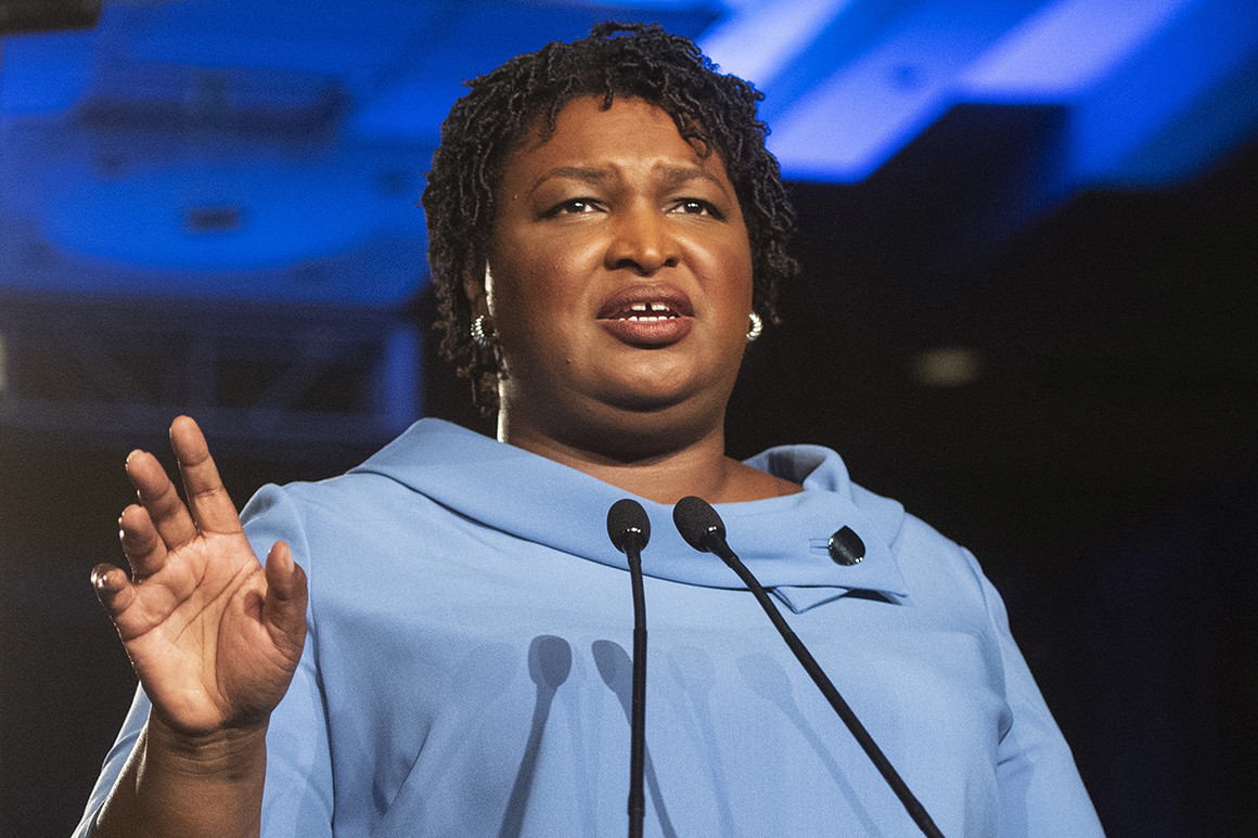 Stacey Abrams Says She'd be 'Honored' to be Joe Biden's Vice President