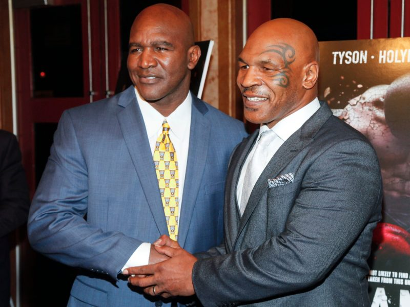 Mike Tyson Says a Charitable Rematch With Evander Holyfield 'Would be Awesome'