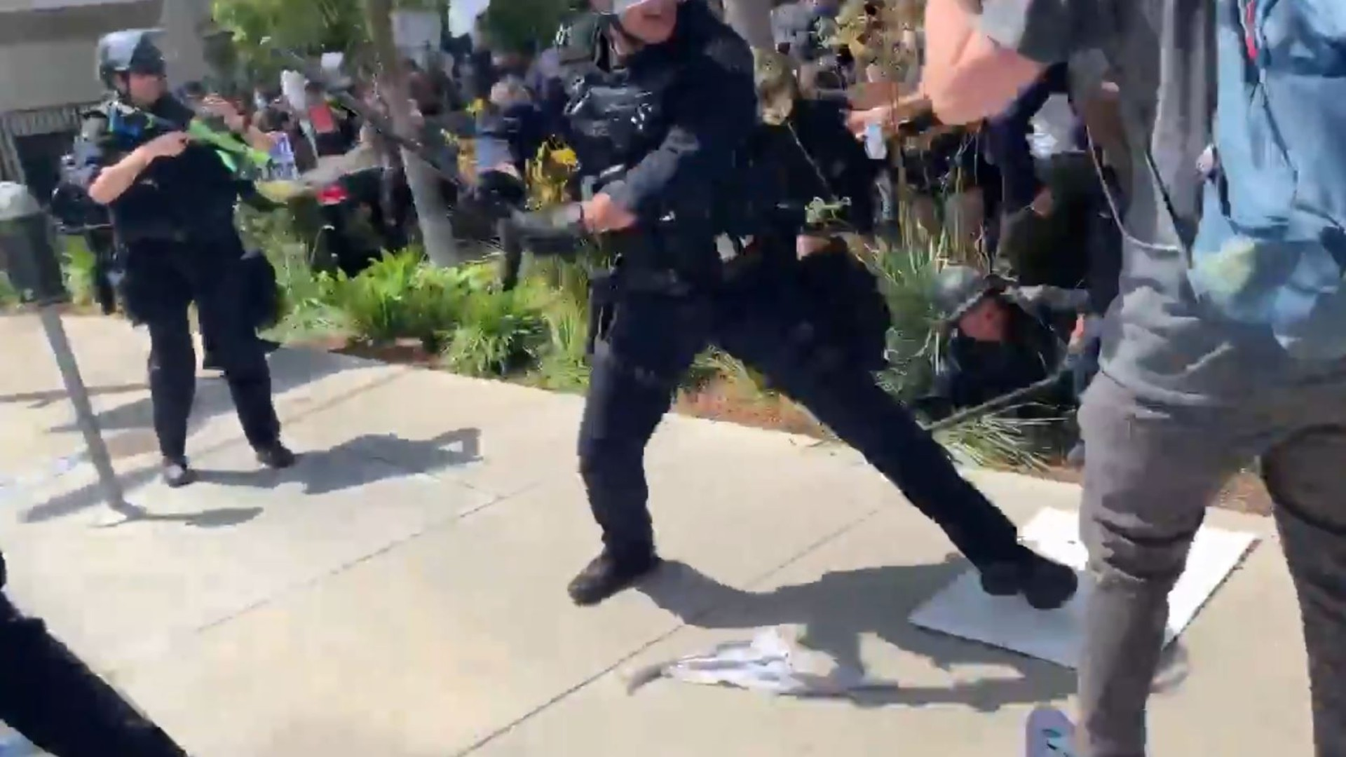 7 LAPD Officers Reassigned Following Complaints From Peaceful Protestors