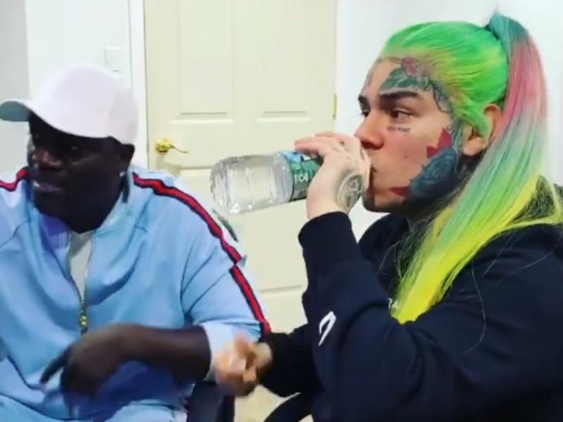 Twitter Reacts to Akon and Tekashi 6ix9ine Remixing 'Locked Up'