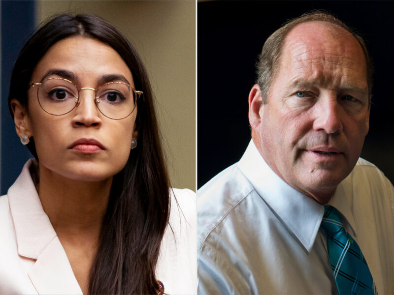Alexandria Ocasio-Cortez Calls Out GOP Rep. Ted Yoho After he Called Her a 'F*****g B***h'