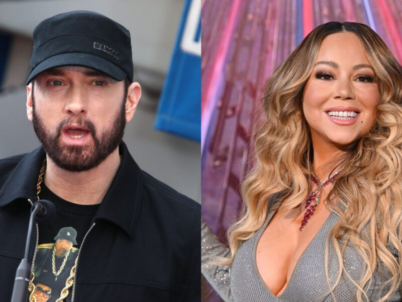 Eminem is Reportedly 'Stressed Out' About Mariah Carey's Upcoming Memoir