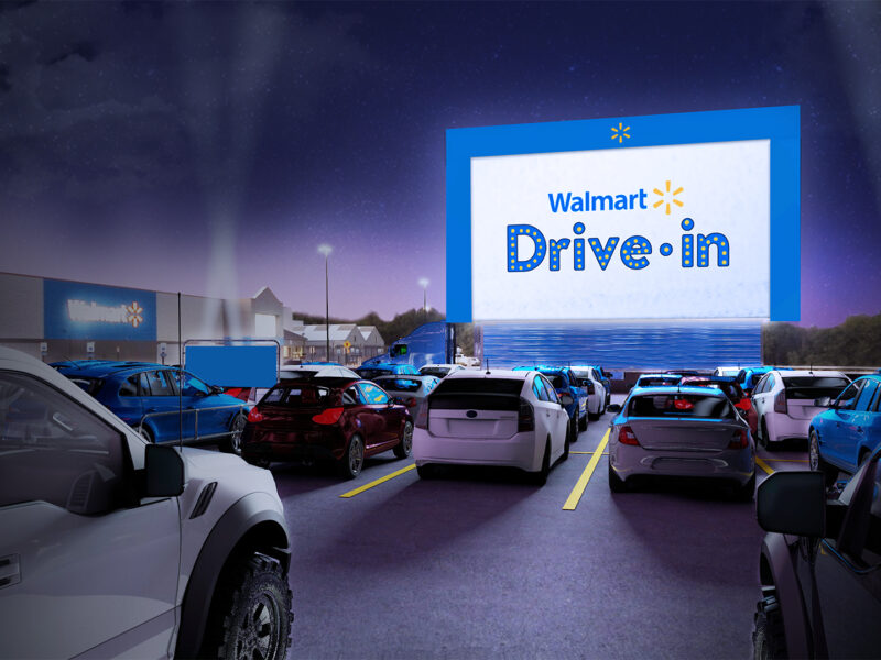 Walmart to Partner With Tribeca Enterprises to Transform Parking Lots to Drive-In Movie Theaters