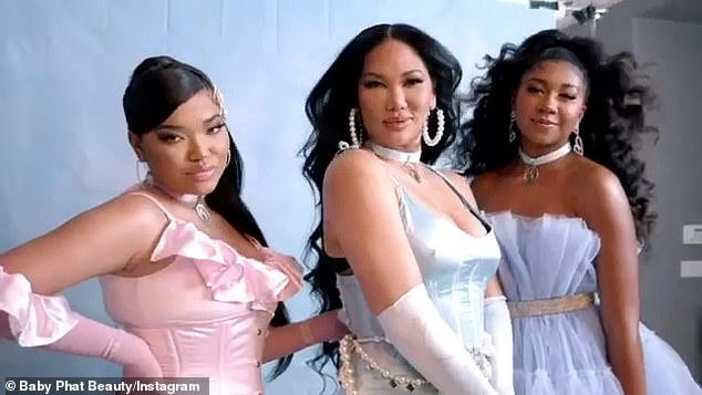 Kimora Lee Simmons Launches Baby Phat Beauty Line With Her Daughters