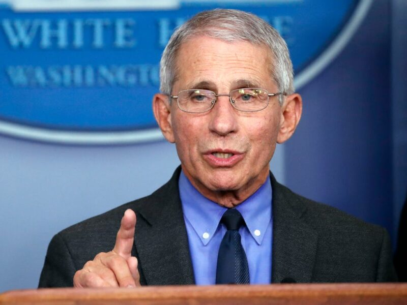 Dr. Fauci Says COVID-19 Vaccine Could Be Available to All Americans by April