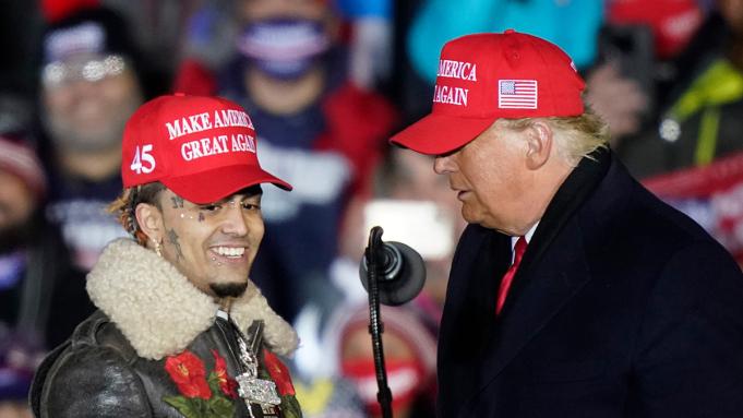 Lil Pump Reportedly Didn't Register To Vote Despite Endorsing Trump