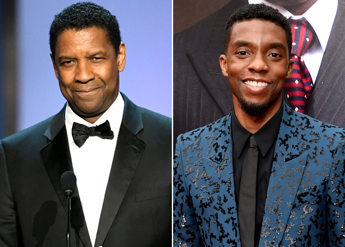 Denzel Washington Recalls Encouraging Chadwick Boseman to Marry His Wife Months Before He Passed
