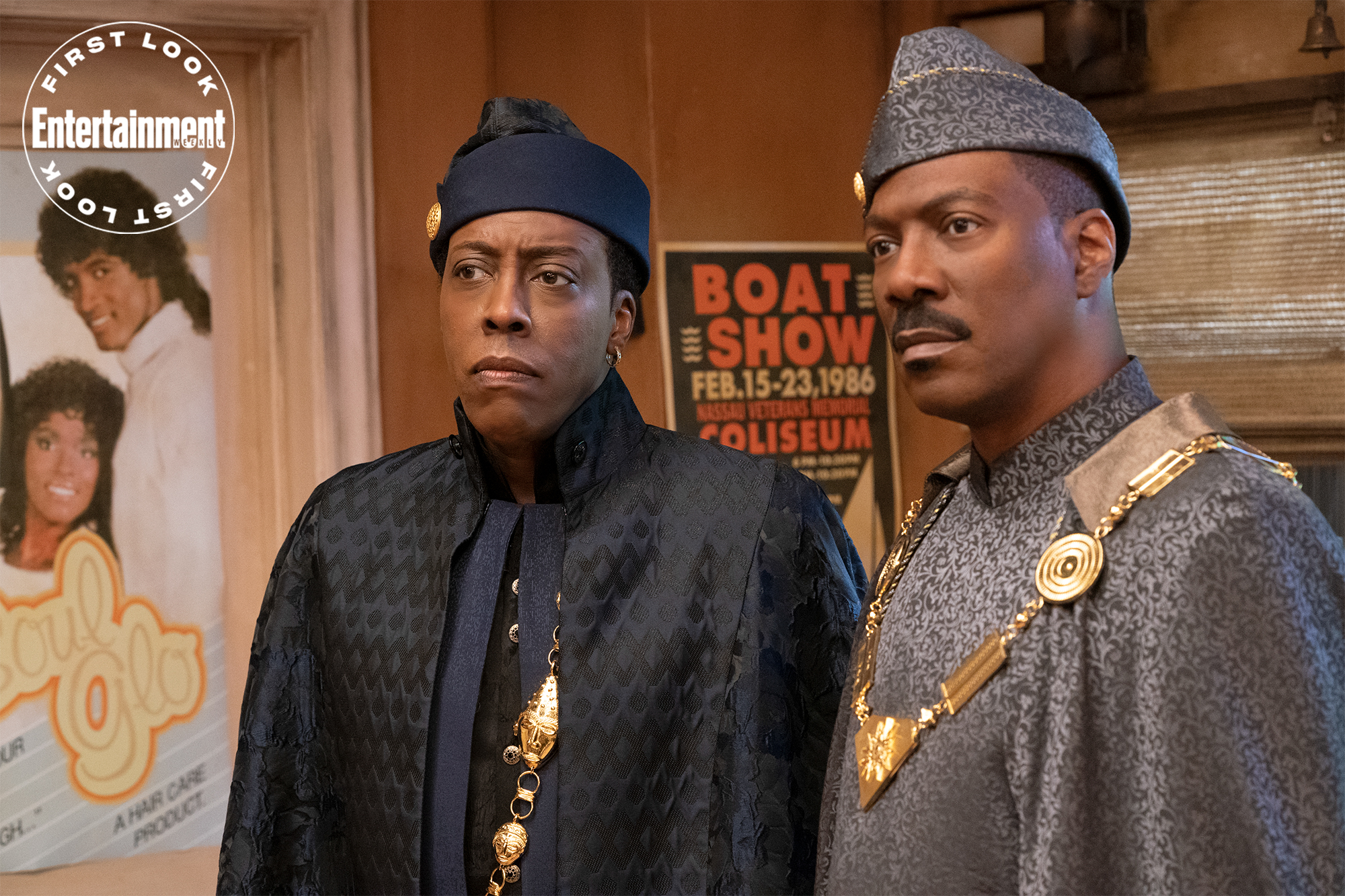 Eddie Murphy and Arsenio Hall Recall Studio Forcing Them To Cast a White Person in Coming To America
