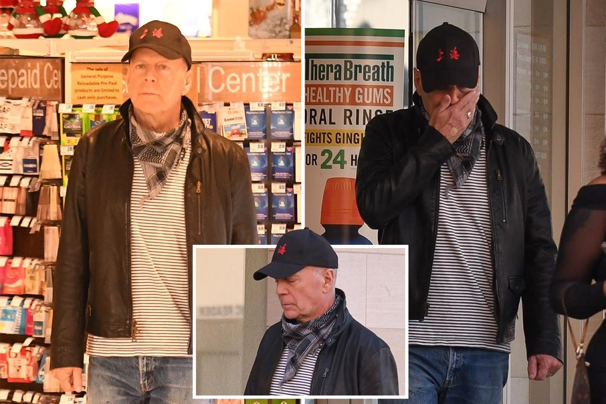 Bruce Willis Gets Kicked Out of Los Angeles Rite Aid For No Mask