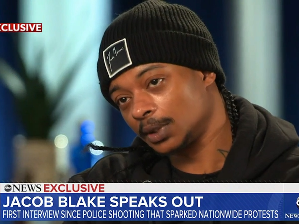Jacob Blake Speaks For First Time Since Surviving Police Shooting: 'I Didn't Want to Be The Next George Floyd""